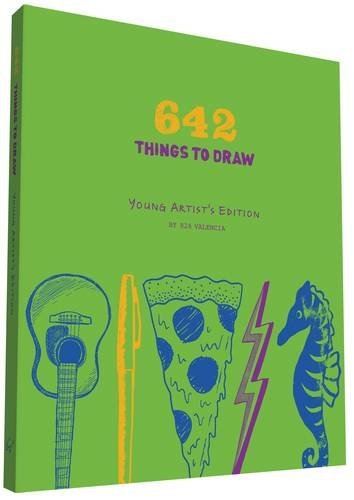 Journal 642 Things To Draw Young Artist's Edition