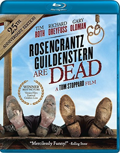 Rosencrantz & Guildenstern Are Dead Oldman Roth Dreyfuss Blu Ray Pg