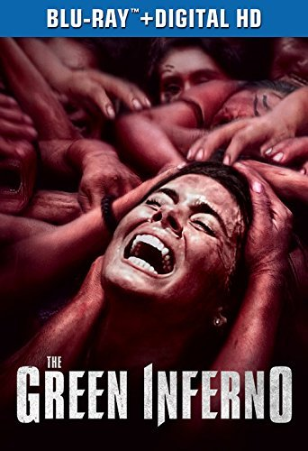 The Green Inferno Izzo Levy Burns Blu Ray Dc R