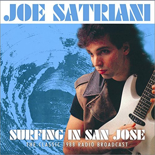 Joe Satriani Surfing In San Jose