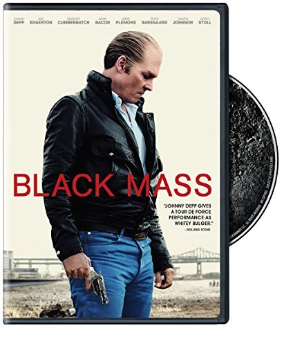Black Mass Depp Cumberbatch Johnson DVD R