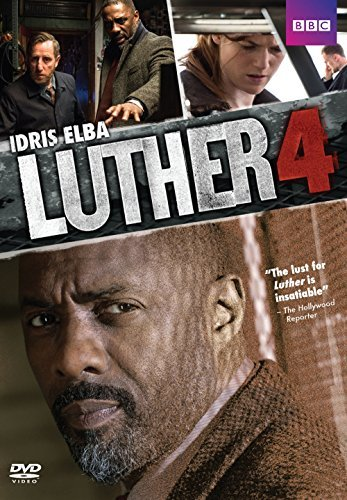 Luther Season 4 DVD