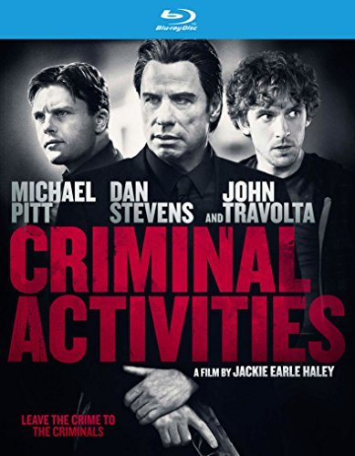 Criminal Activities Pitt Stevens Travolta Blu Ray Nr