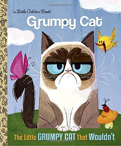 Golden Books The Little Grumpy Cat That Wouldn't