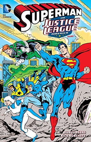 Dan Jurgens Superman & The Justice League America