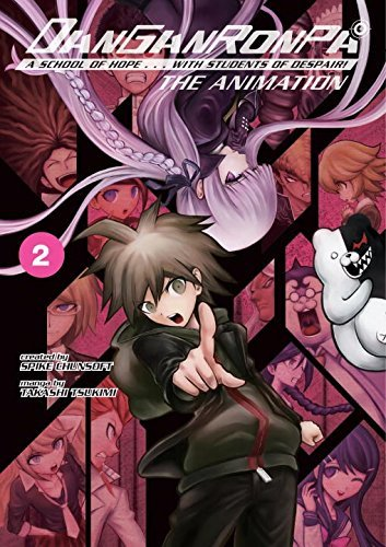 Spike Chunsoft Danganronpa The Animation Volume 2