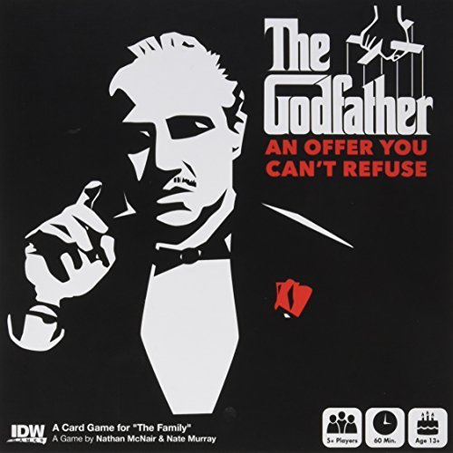 Idw Games Godfather An Offer You Can't Refuse Card Game