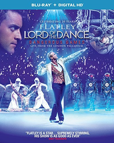 Lord Of The Dance Dangerous Games Michael Flatley Blu Ray Dc