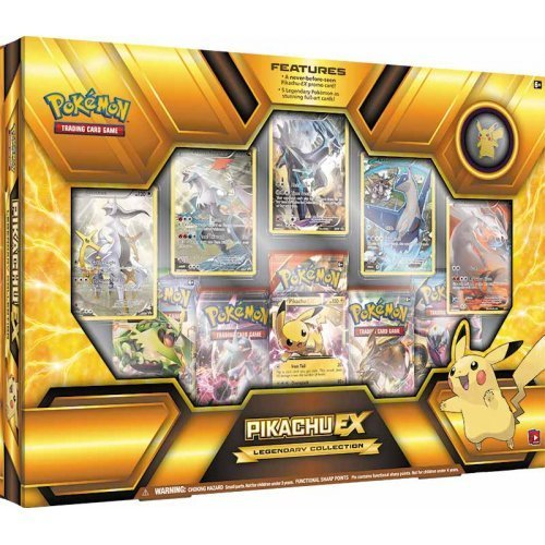 Pokemon Cards Hoopa Pikachu Ex Legendary Collection Box