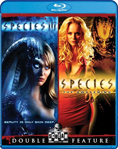 Species 3 Species The Awakening Double Feature Blu Ray R