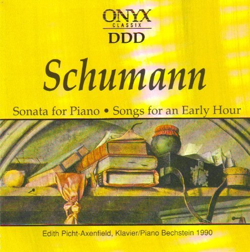 R. Schumann Sonata For Piano Songs For An Early Hour