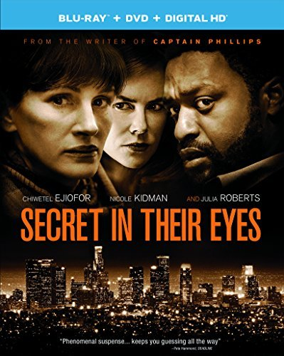 Secret In Their Eyes Ejiofor Kidman Roberts Blu Ray DVD Dc Pg13