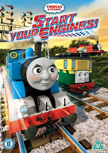 Thomas & Friends Start Your Engines! DVD
