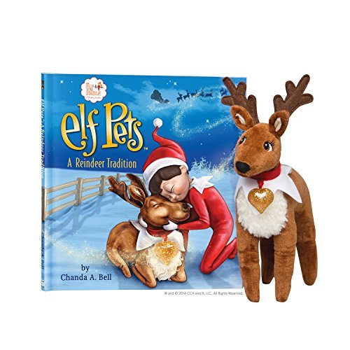 Chanda A. Bell Elf On The Shelf Pets Reindeer Tradition