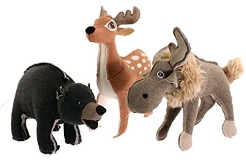 Forest Friends Dog Toy Assortment Forest Friends Dog Toy Assortment Ea