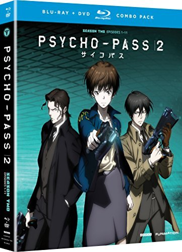 Psycho Pass 2 Season 2 Blu Ray DVD Nr