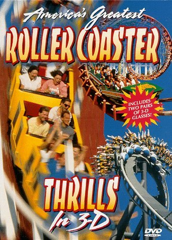 America's Greatest Roller Coaster Thrills In 3 D Clr St Snap Nr Incl. 3d Glasses