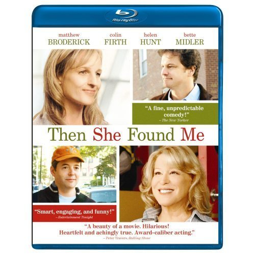 Then She Found Me Hunt Broderick Midler Firth Blu Ray Ws R