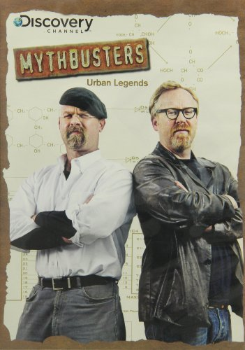 Mythbusters Urban Legends DVD Nr