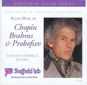 Lincoln Mayorga Piano Music Of Chopin Brahms +