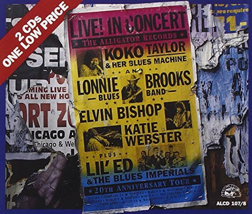 Alligator Records Alligator Records 20th Anniver Live 2 CD Set