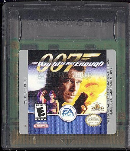 Gameboy Color World Is Not Enough 007 Rp