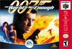 Nintendo 64 World Is Not Enough 007 T