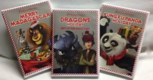 Dreamworks Holiday Family 3 DVD Movie Night Pack