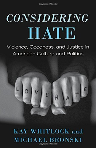 Kay Whitlock Considering Hate Violence Goodness And Justice In American Cultu