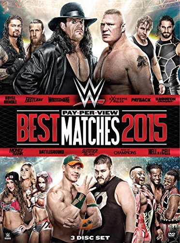 Wwe Best Ppv Matches 2015 DVD