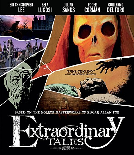 Extraordinary Tales Lee Lugosi Sands Corman Blu Ray Nr