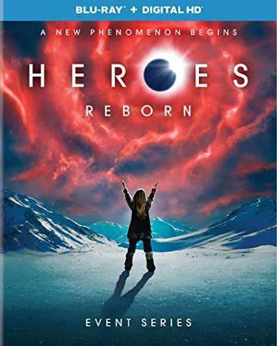 Heroes Reborn Event Series Blu Ray