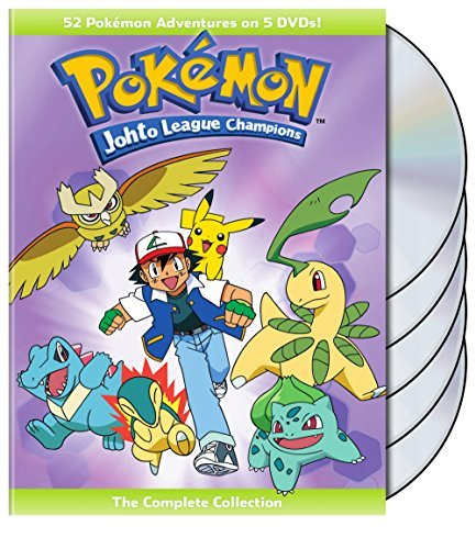Pokemon Johto League Champions Complete Collection DVD
