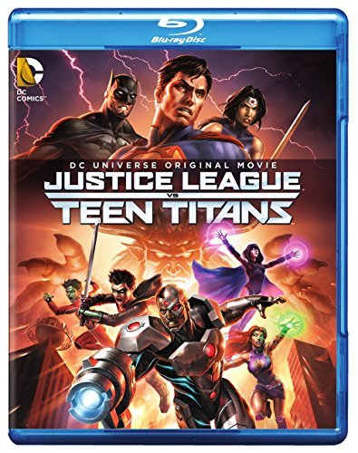 Justice League Vs. Teen Titans Justice League Vs. Teen Titans Blu Ray DVD Dc Pg13