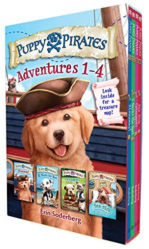 Erin Soderberg Puppy Pirates Adventures 1 4 Boxed Set