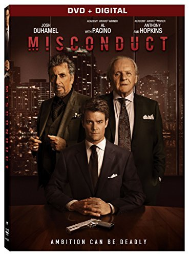 Misconduct Duhamel Hopkins Pacino DVD Dc R