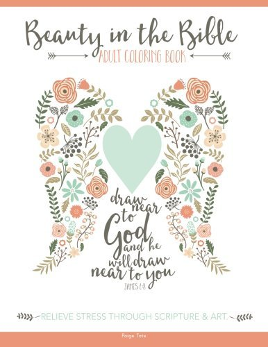 Adult Coloring Book Artists Beauty In The Bible Adult Coloring Book