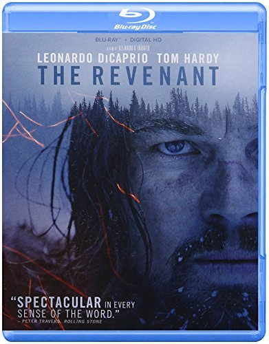 Revenant Dicaprio Hardy Poulter Blu Ray Dc R