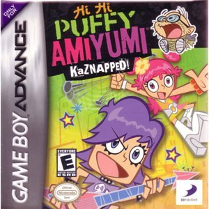 Gameboy Advance Hi Hi Puffy Amiyumi Kaznapped