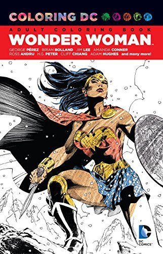 various-coloring-dc-wonder-woman
