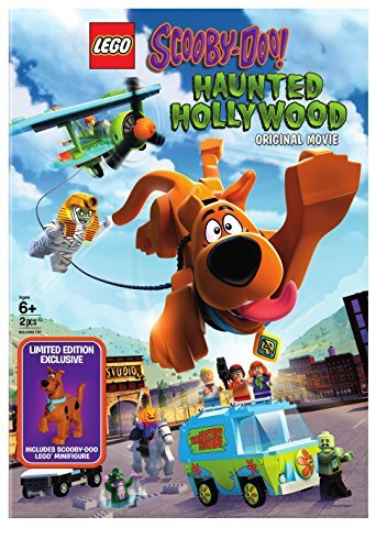 Lego Scooby Haunted Hollywood DVD Figurine