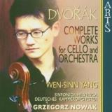 A. Dvorak Works For Cello & Orchestra Yang*wen Sinn (vc) Nowak Various