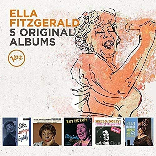 Ella Fitzgerald 5 Original Albums Import Gbr Box Set