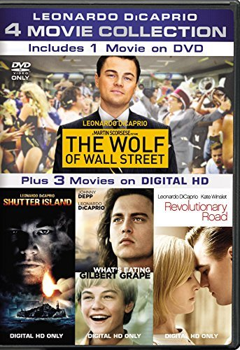 Leonardo Dicaprio 4 Movie Collection DVD R
