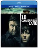10 Cloverfield Lane Winstead Goodman Gallagher Blu Ray DVD Dc Pg13