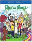 Rick & Morty Season 2 Blu Ray
