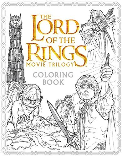 Nicolette Caven The Lord Of The Rings Movie Trilogy Coloring Book
