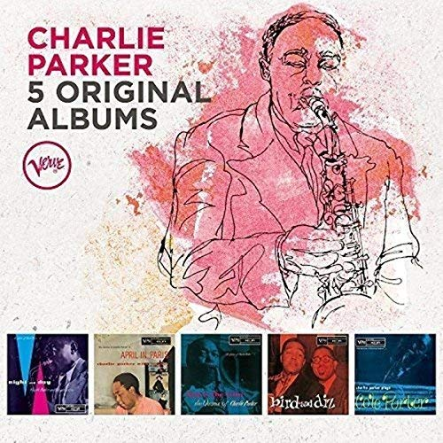 Charlie Parker 5 Original Albums Import Gbr Box Set