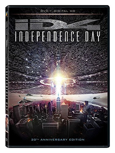 Independence Day Smith Pullman Goldblum DVD Pg13 20th Anniversary Edition
