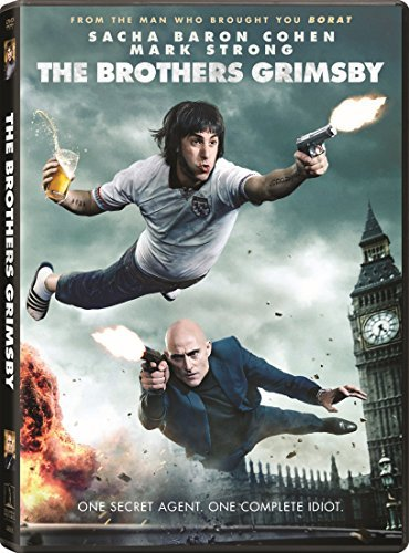 Brothers Grimsby Cohen Strong Wilson DVD R